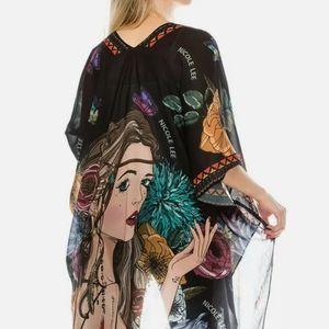ANGELIAN FOLLOWS HER DREM kimono
